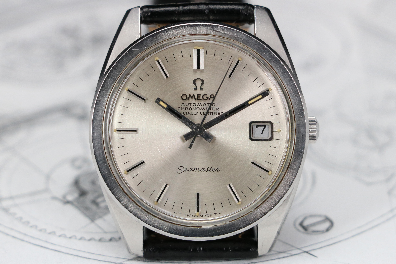 Omega Seamaster Chronometer Ref 168 022 1967 Cal 564 Steel