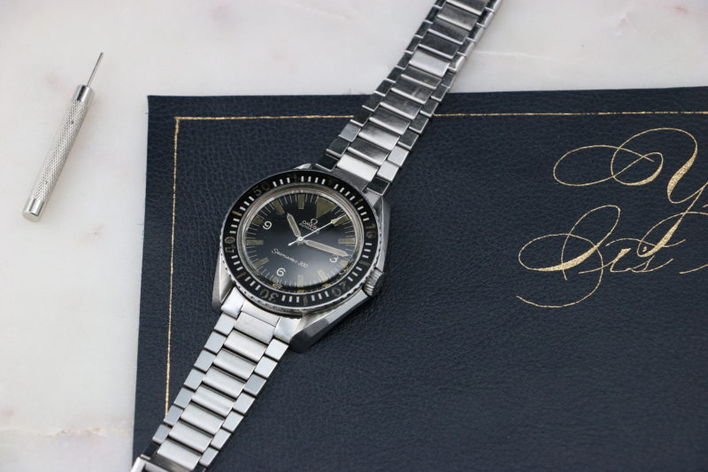 Omega Seamaster 300 165024 Big Triangle