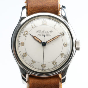 Vintage H Moser & Cie 1940's watch