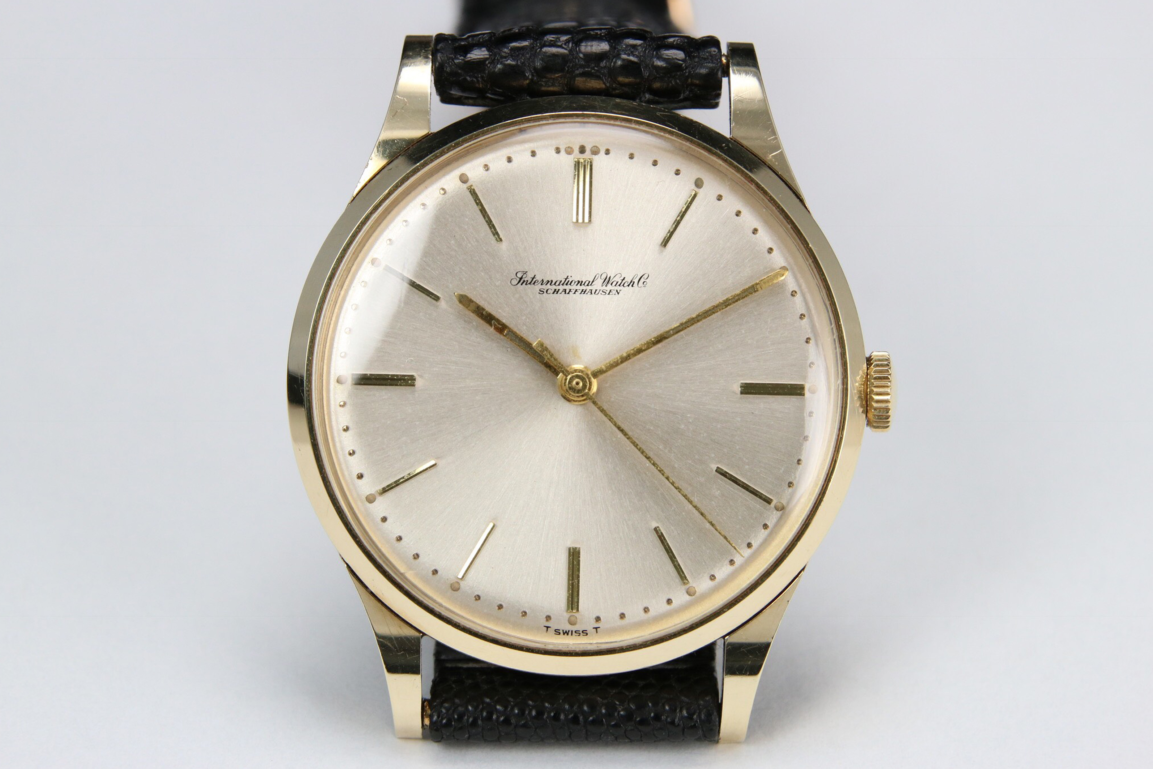 1963 Iwc Ref 347 Cal 89 Yg Vintage Watches For Sale Certified